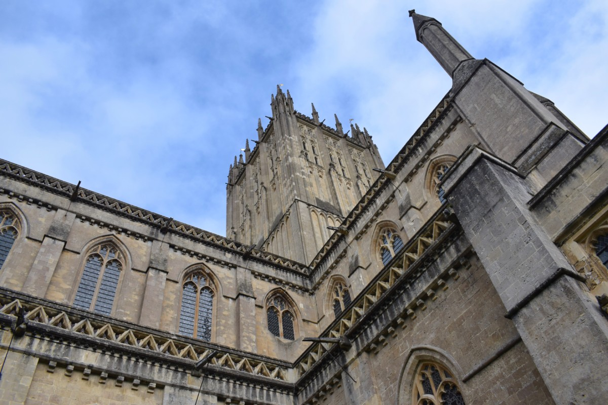 Wells Cathedral Somerset England