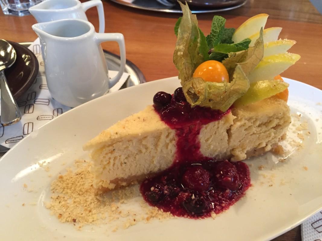 220 Grad cheesecake Salzburg Austria