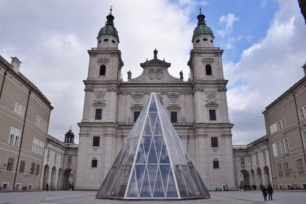 Salzburg Cathedral Domplatz Austria