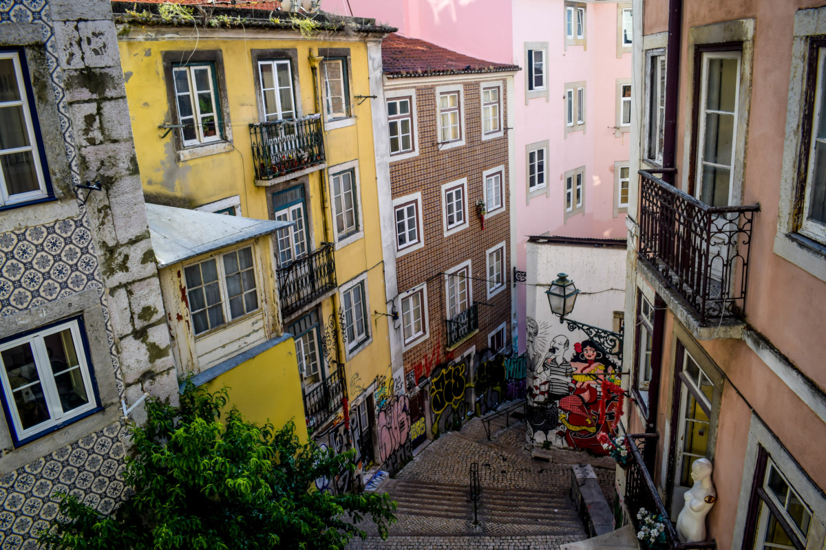 The best places to spot street art in Lisbon
