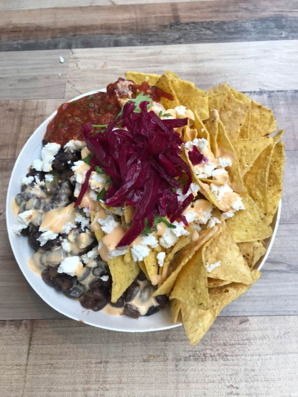 Nachos at Foodhallen Amsterdam