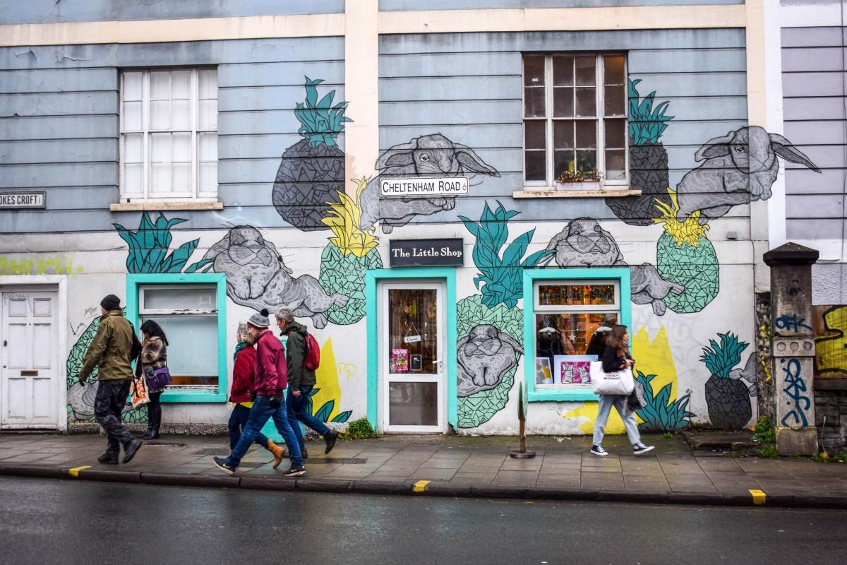 Stokes Croft street scene