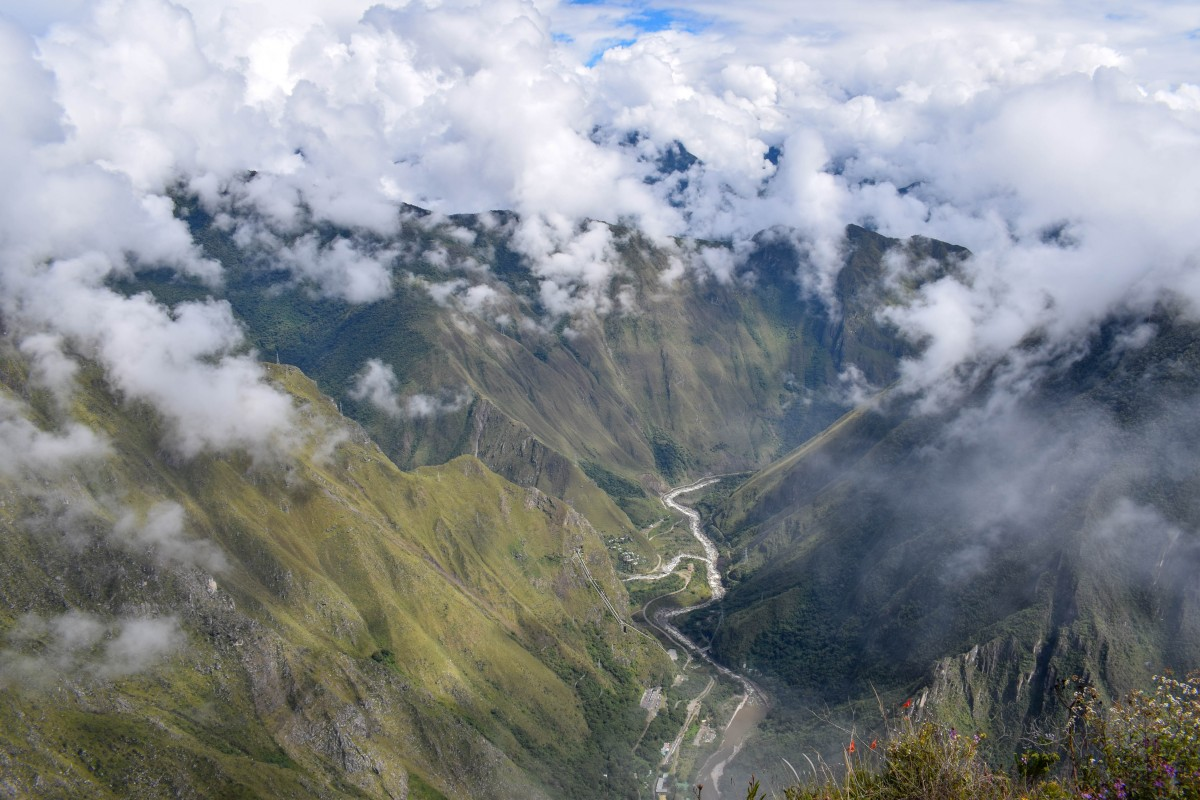 View from Machu Picchu Mountain