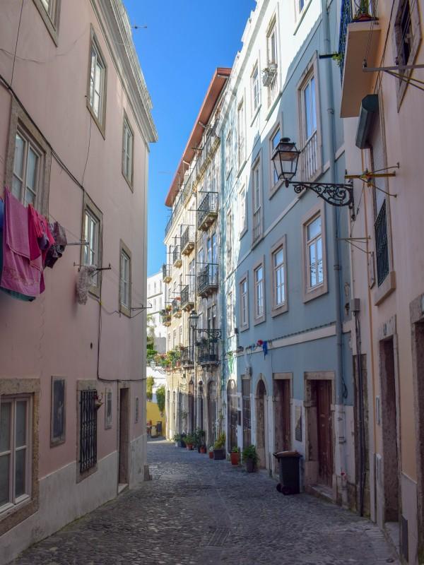 Alfama streets Lisbon