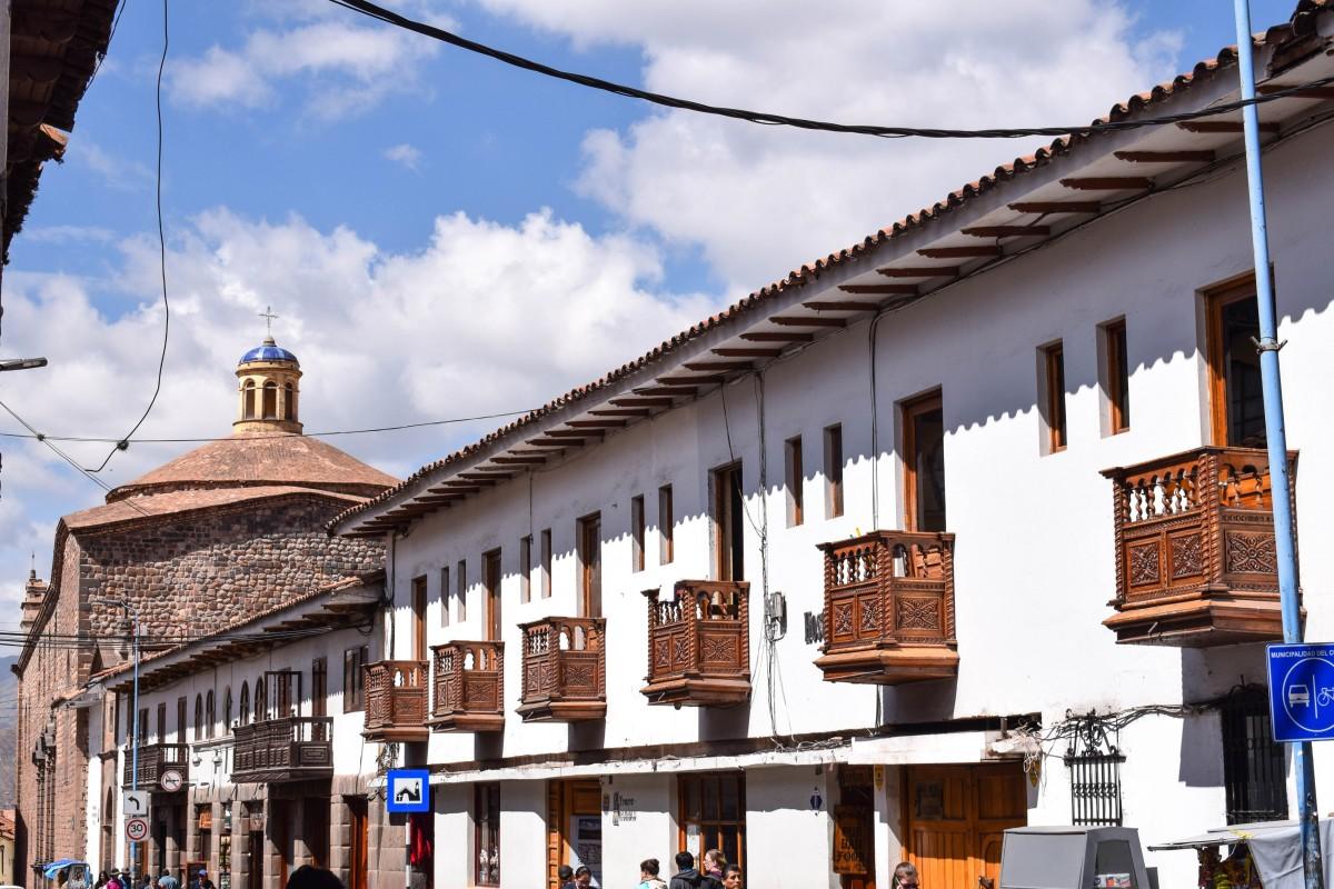 Cusco Peru street view