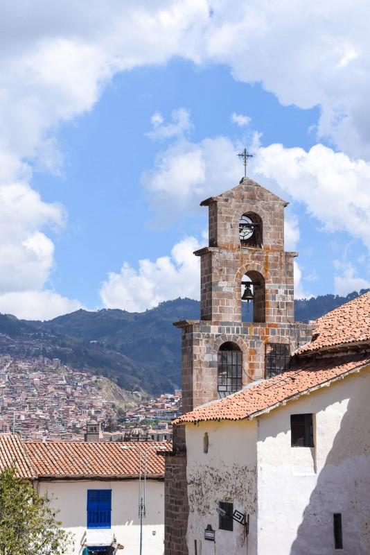 San Blas Church Cusco Peru
