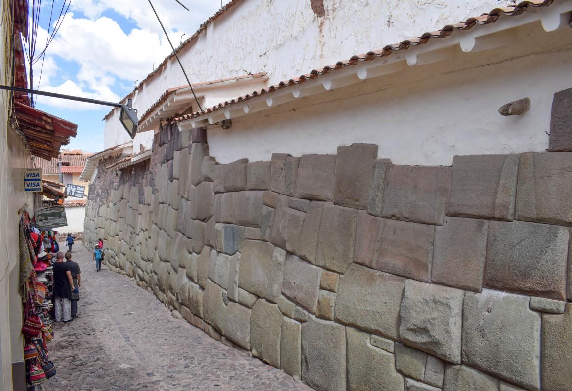 San Blas stone walls Cusco Peru