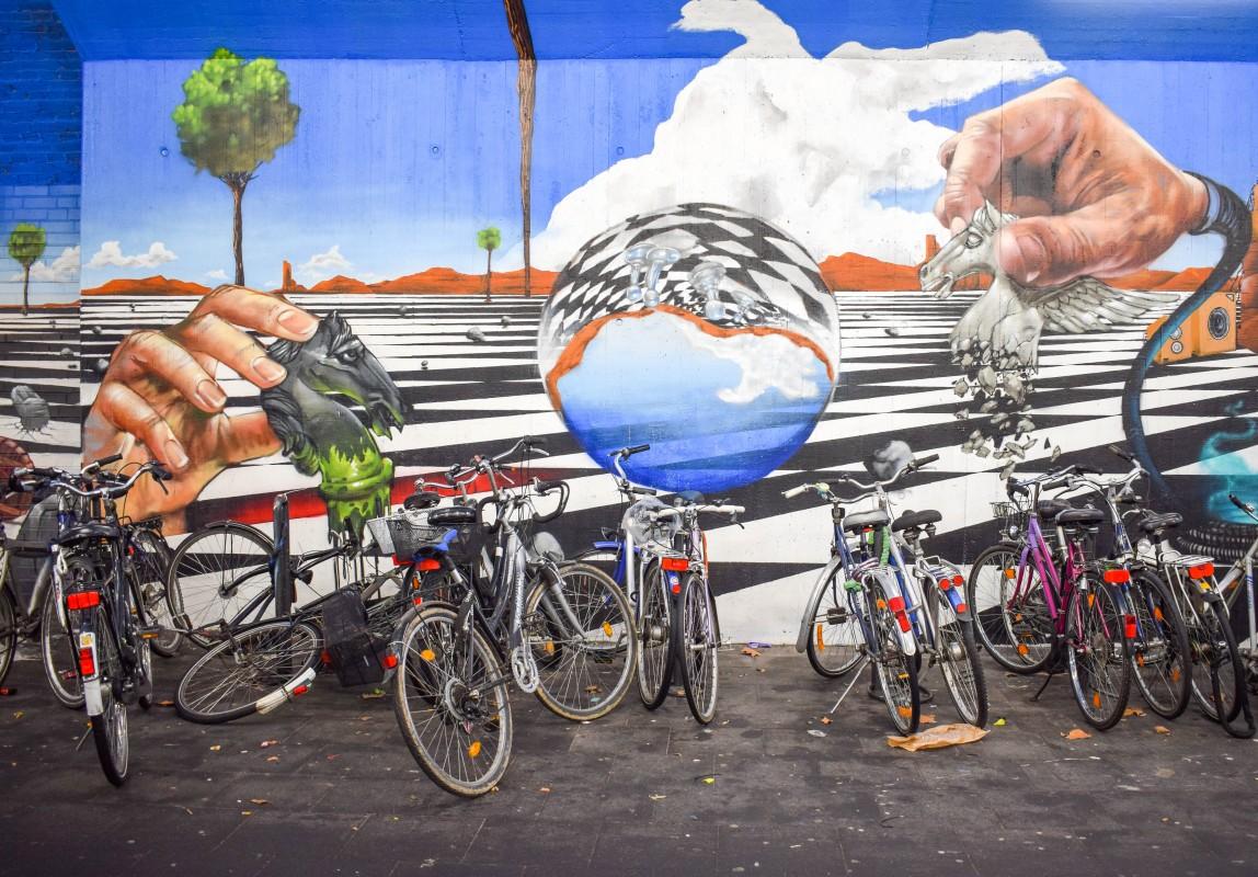 Street art Ehrenfeld Cologne Germany