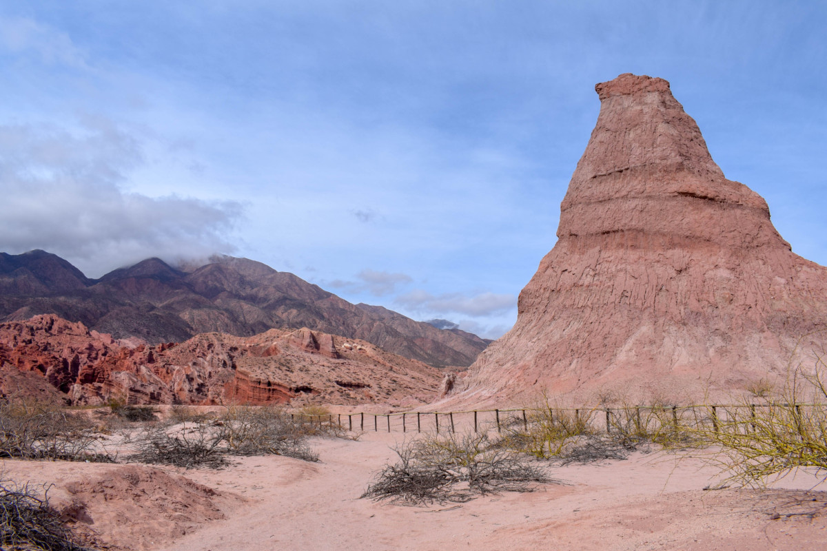 The Obelisk along Quebrada de las Conchas
