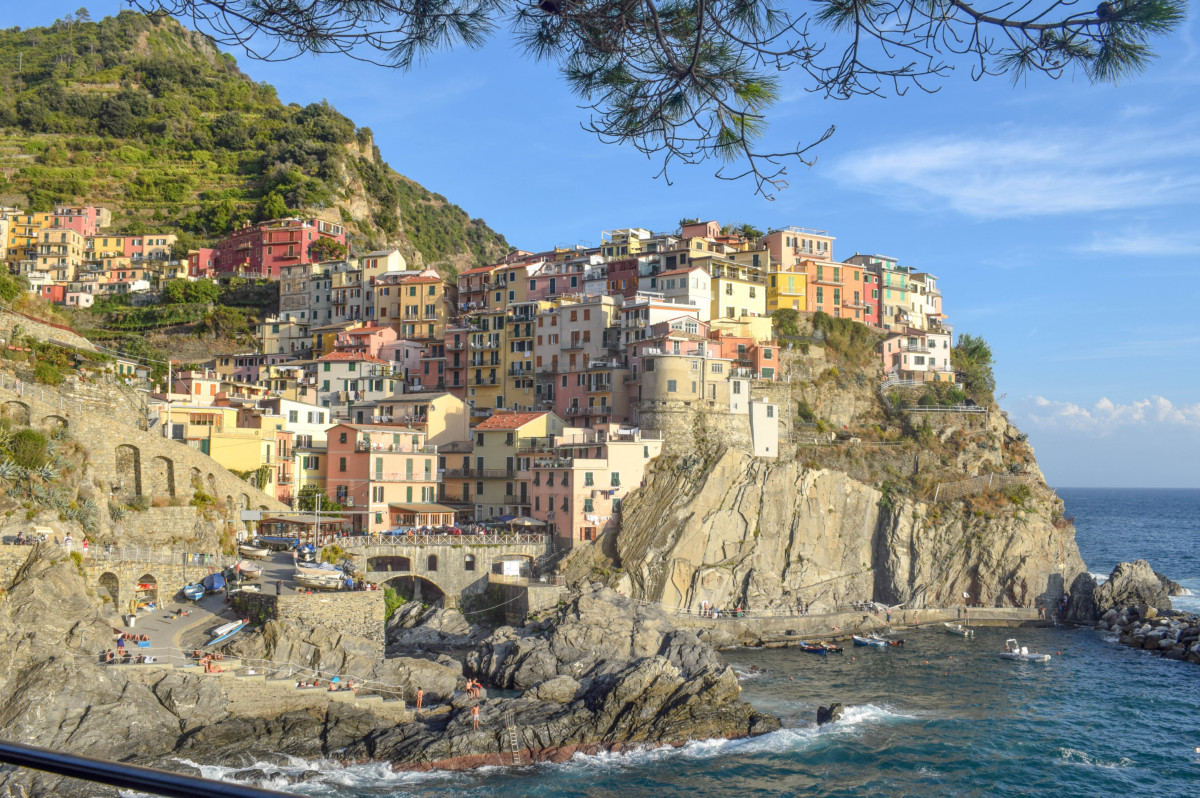 Manarola Cinque Terre Italy-