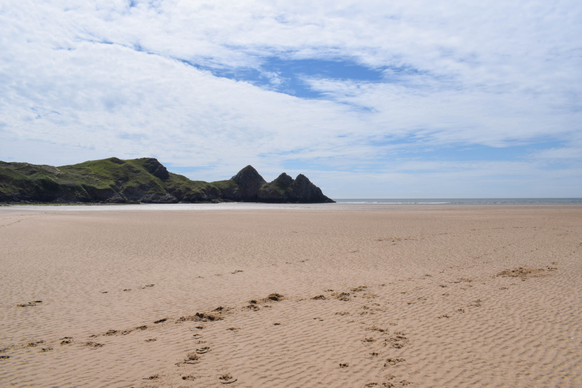 Three Cliffs Bay Gower Peninsula Wales - UK short breaks