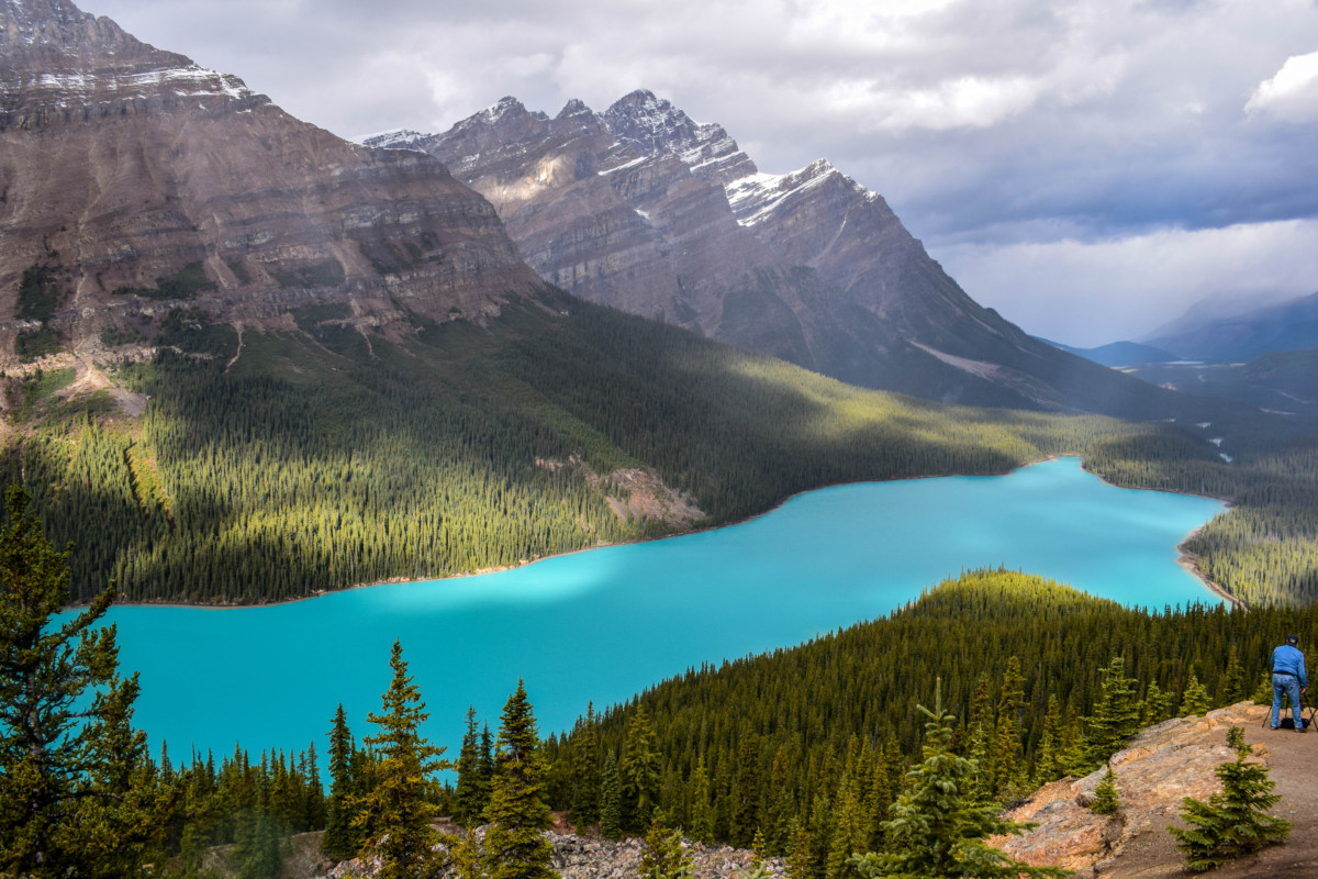 Peyto Lake Icefields Parkway Canada