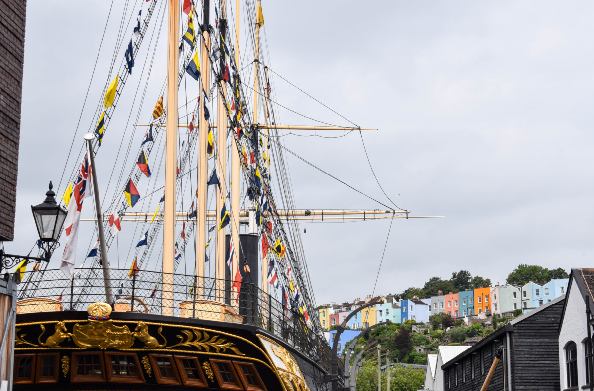 Stepping back in time at Brunel's SS Great Britain, Bristol