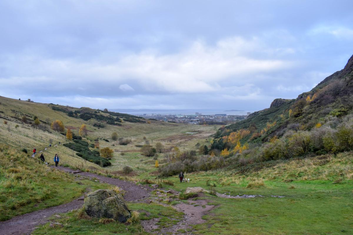 Arthur's Seat Edinburgh Autumn