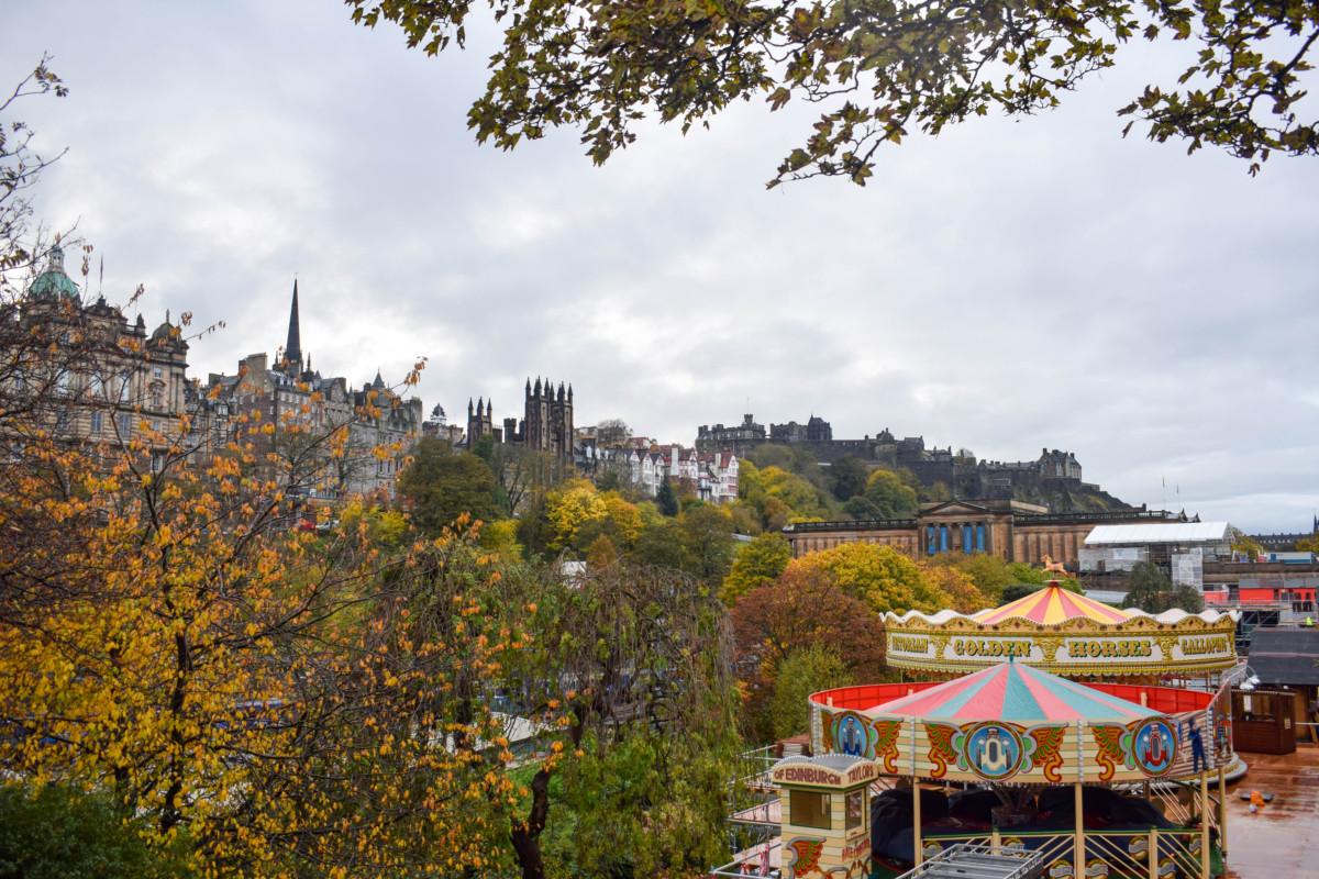 Autumn in Edinburgh Scotland