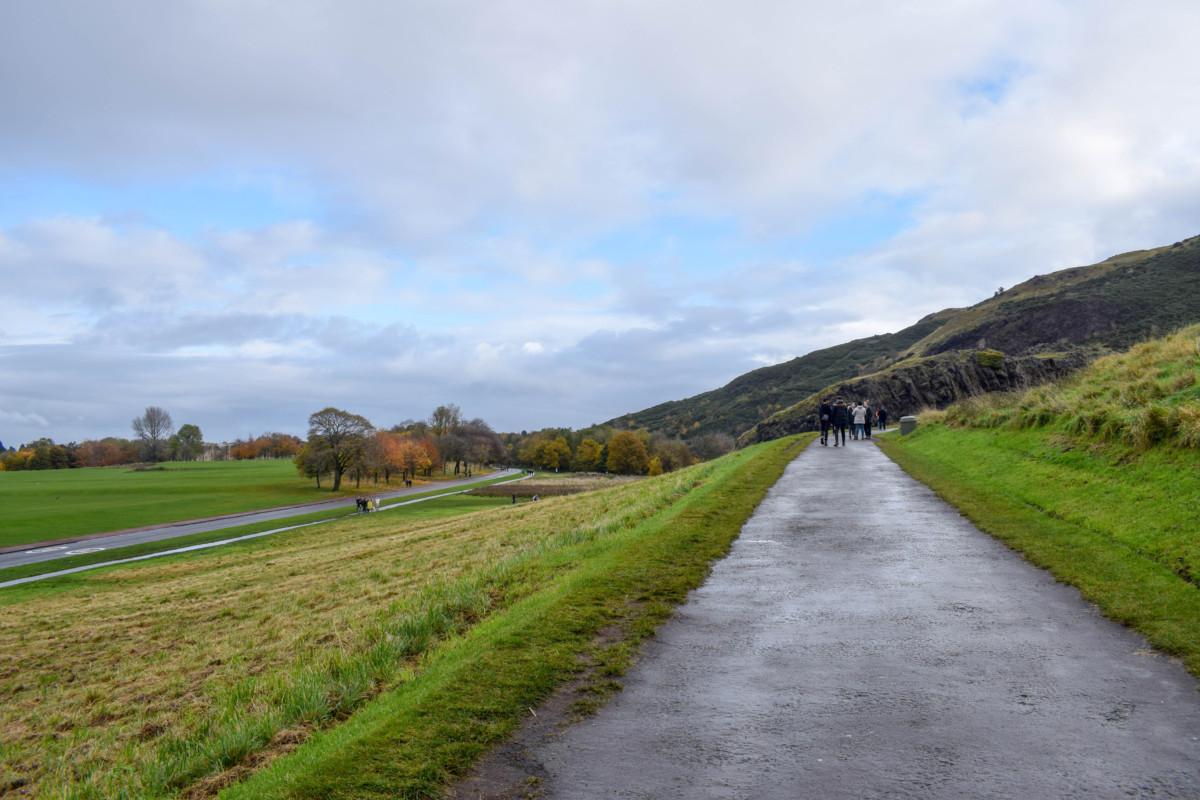 Autumn in Edinburgh Arthurs Seat