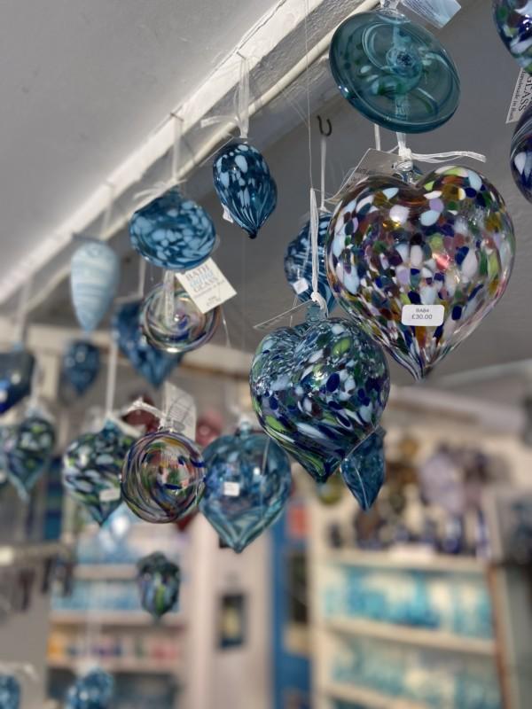 Bath Aqua Glass
