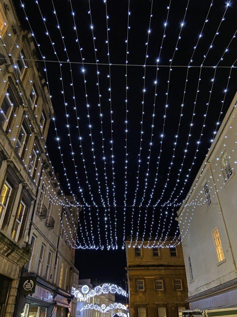 Bath christmas lights