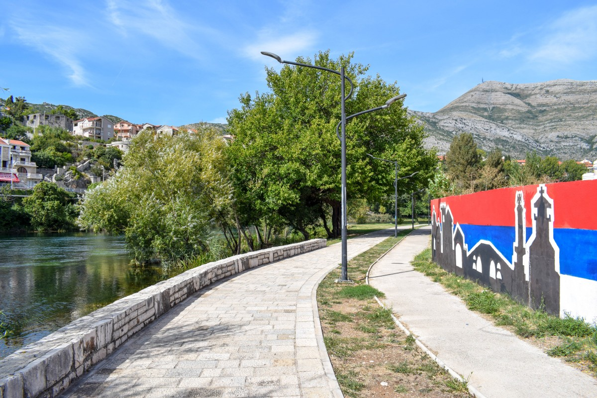 Trebinje river walk Bosnia and Herzogovina day trip