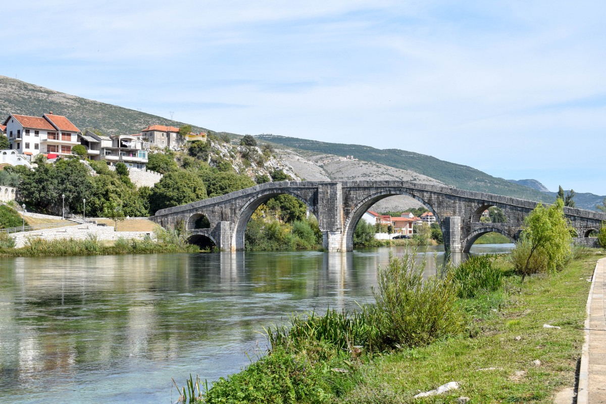 Arslanagica Bridge in Trebinje Bosnia and Herzogovina