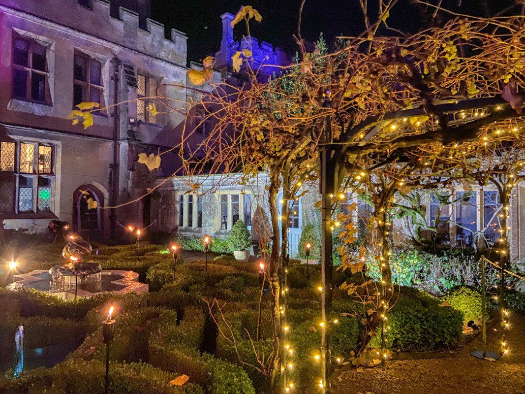 Sudeley Castle Spectacle of Light Cotswolds at Christmas