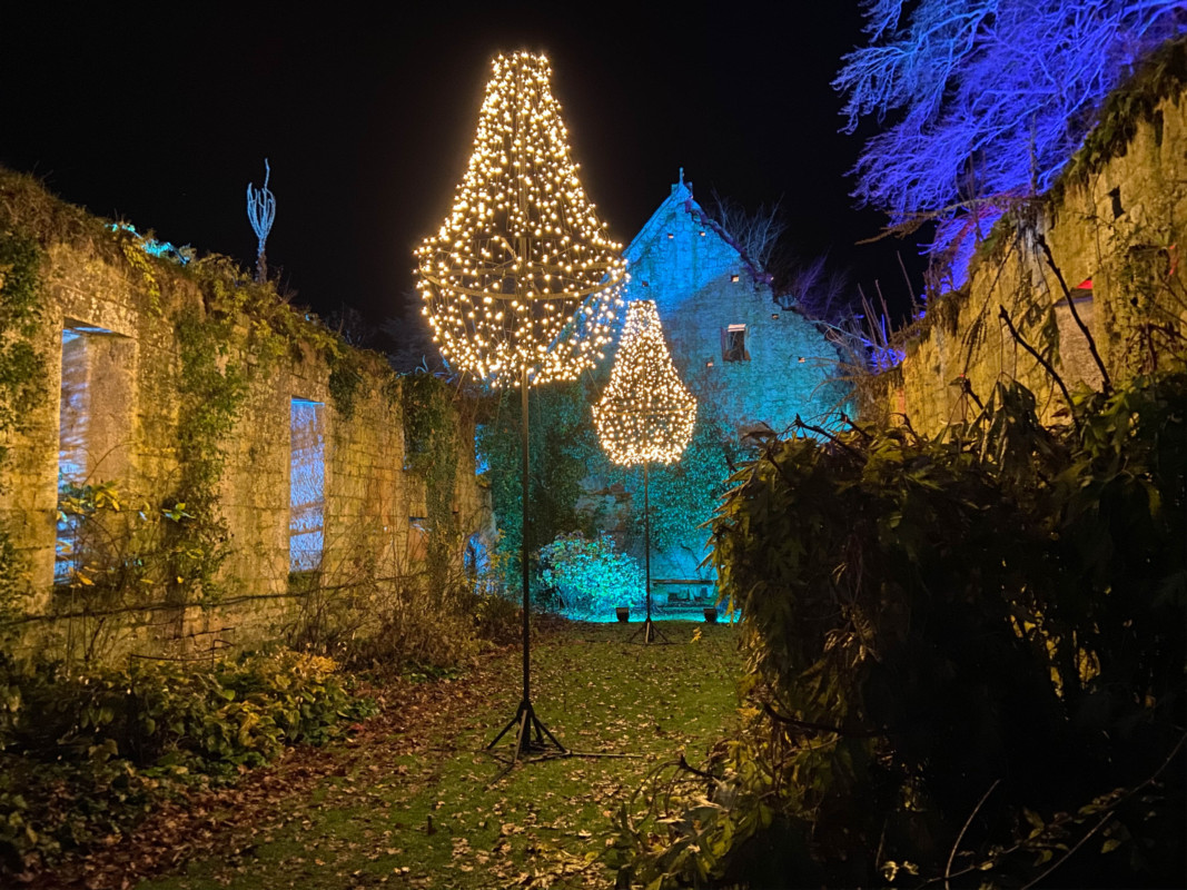 Sudeley Castle Spectacle of Light Cotswolds at Christmas castle runs