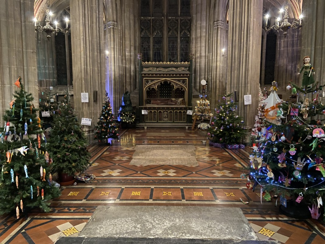Treefest-St Mary Redclife-Bristol-Christmas in Bristol