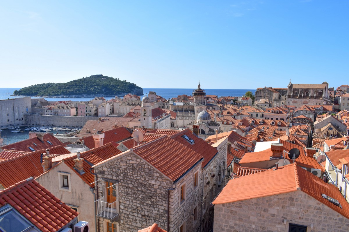 View of Dubrovnik from city walls Croatia-24 hours in dubrovnik