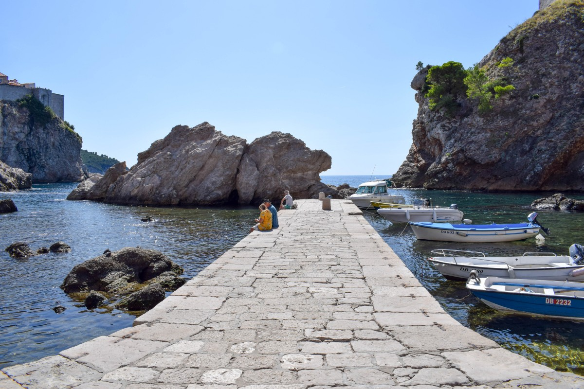 Short breaks in dubrovnik West harbour Game of Thrones King's Landing