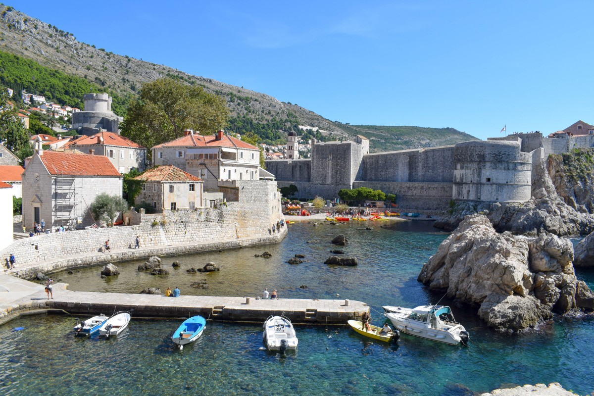 West Harbour Dubrovnik Game of Thrones filming locations Croatioa-24 hours in Dubrovnik