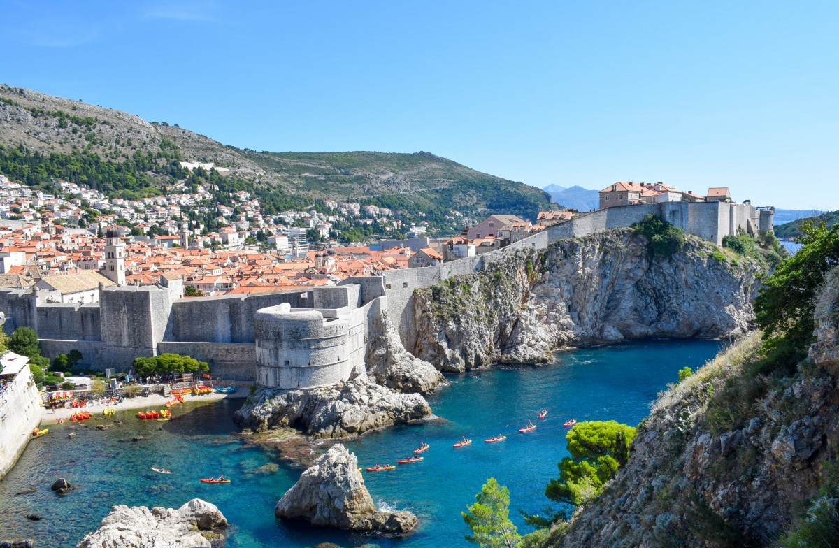 Sea kayaking in Dubrovnik Croatia-24 hours in dubrovnik