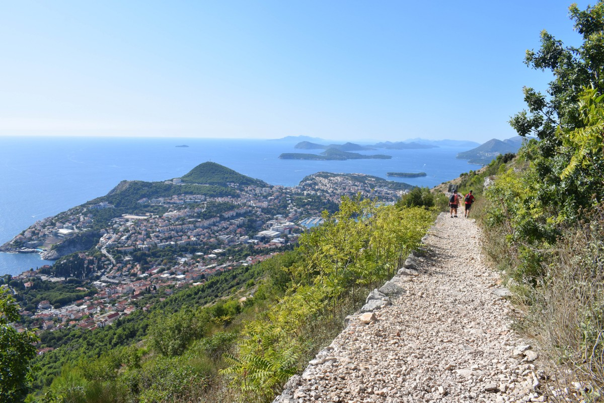 Hiking Mount Srd in Dubrovnik Croatia