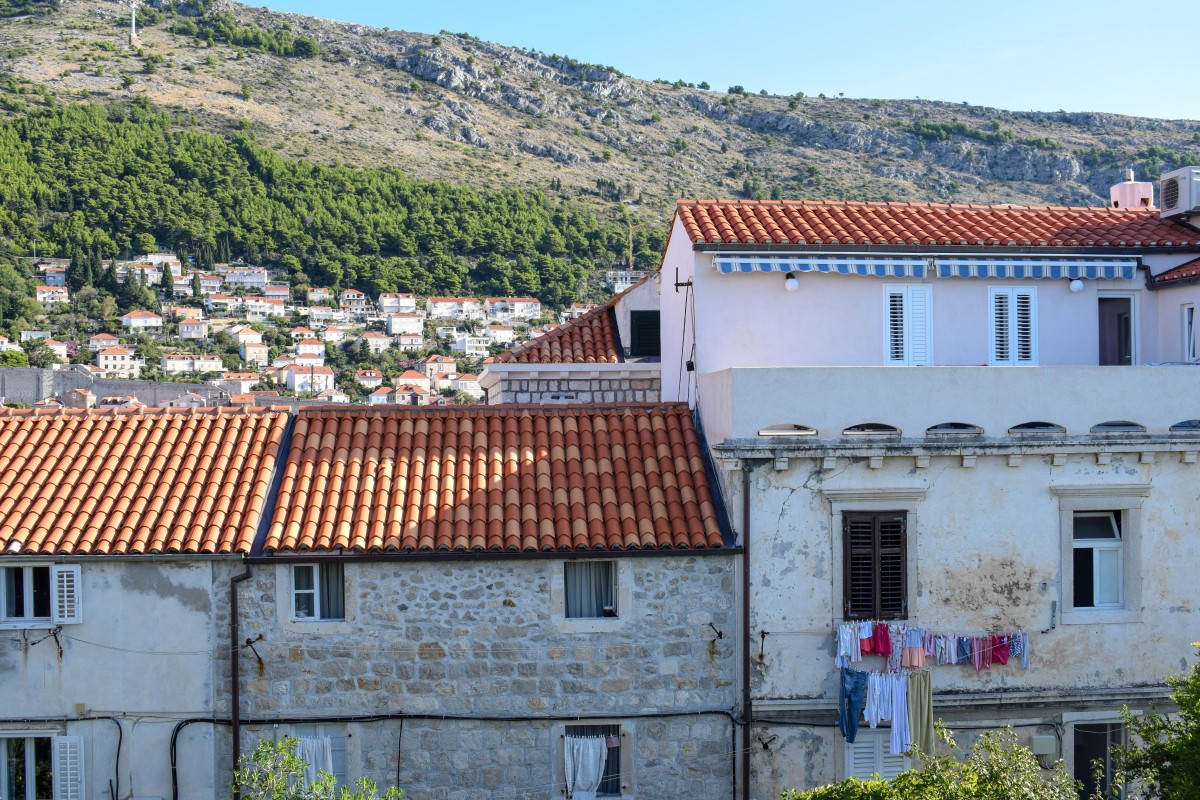 Short break in Dubrovnik Croatia, houses in old town - Part Time Passport