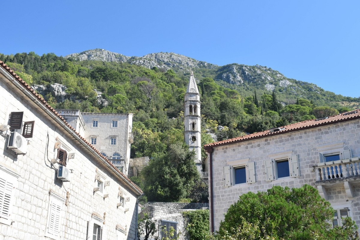 Perast Old Town in Montenegro