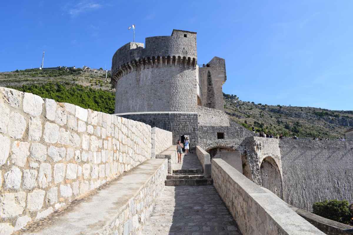 Short breaks dubrovnik walls of dubrovnik croatia