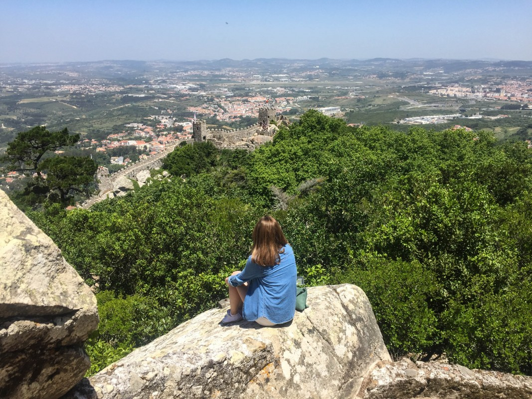 Moorish castle Sintra Lisbon views portugal holidays