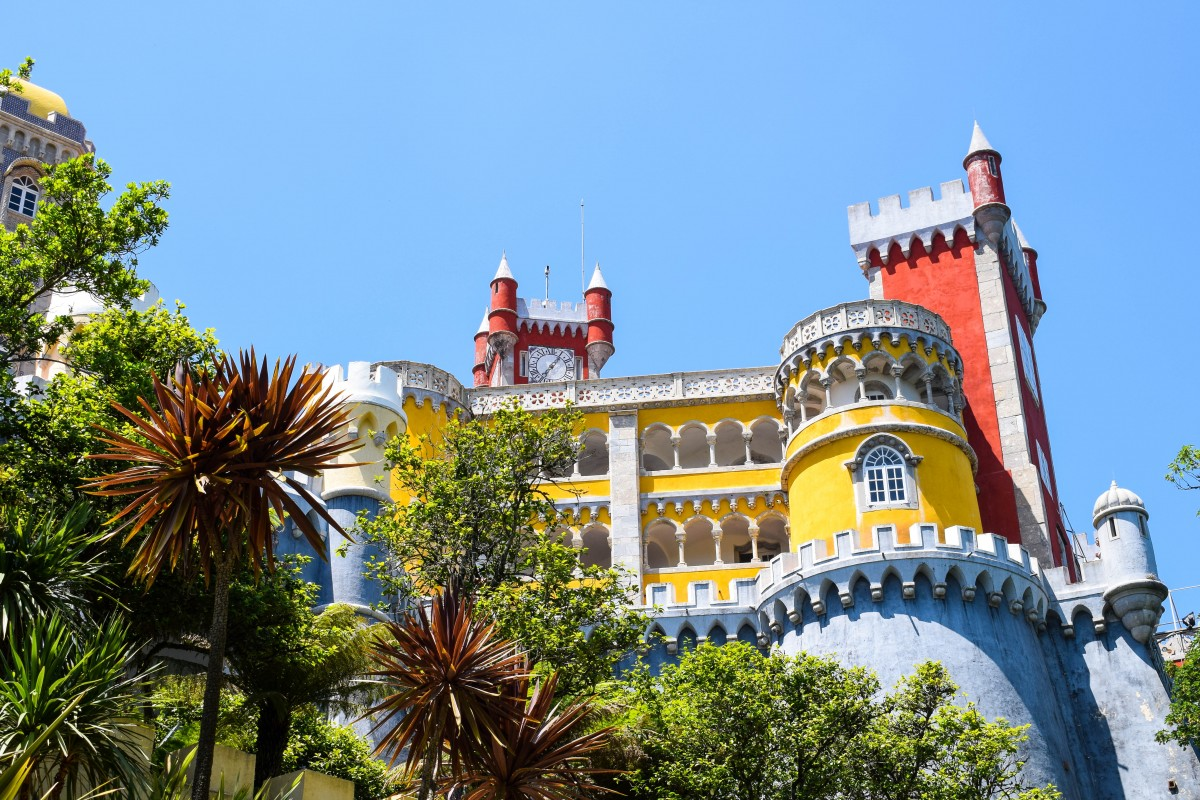 Pena Palace Sintra Lisbon Day trips Portugal