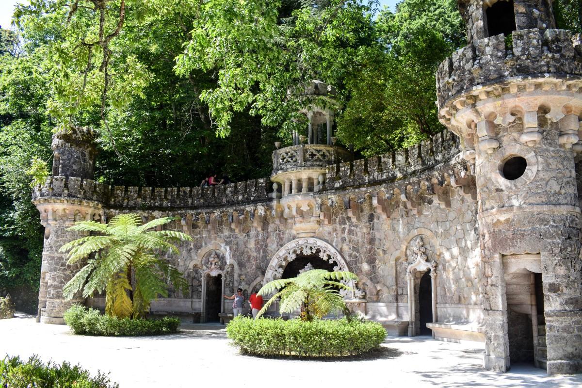 Quinta da Regaleira Sintra Lisbon Portugal