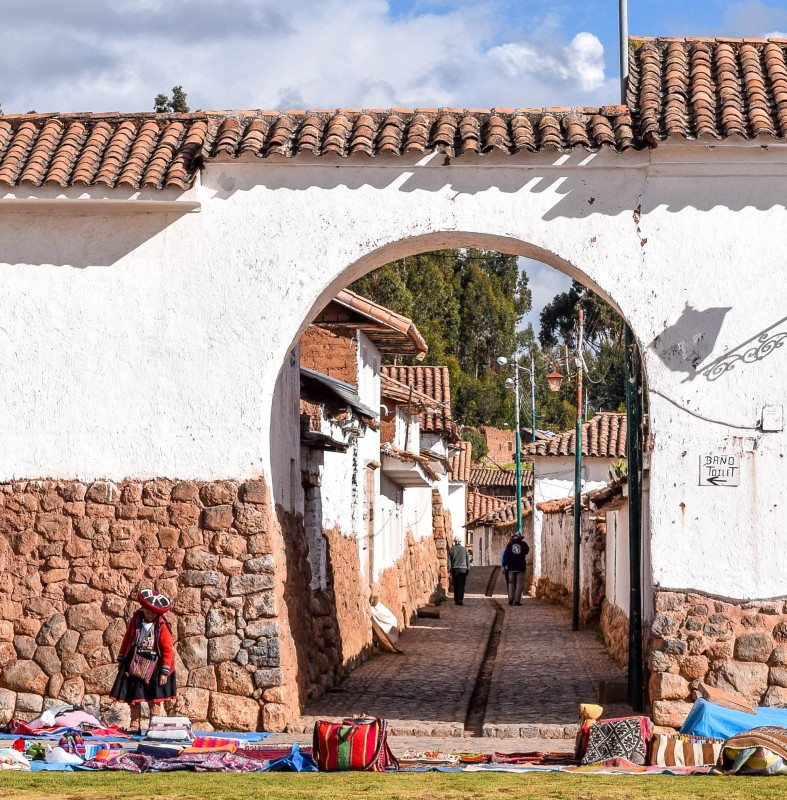 Chinchero Sacred Valley Peru