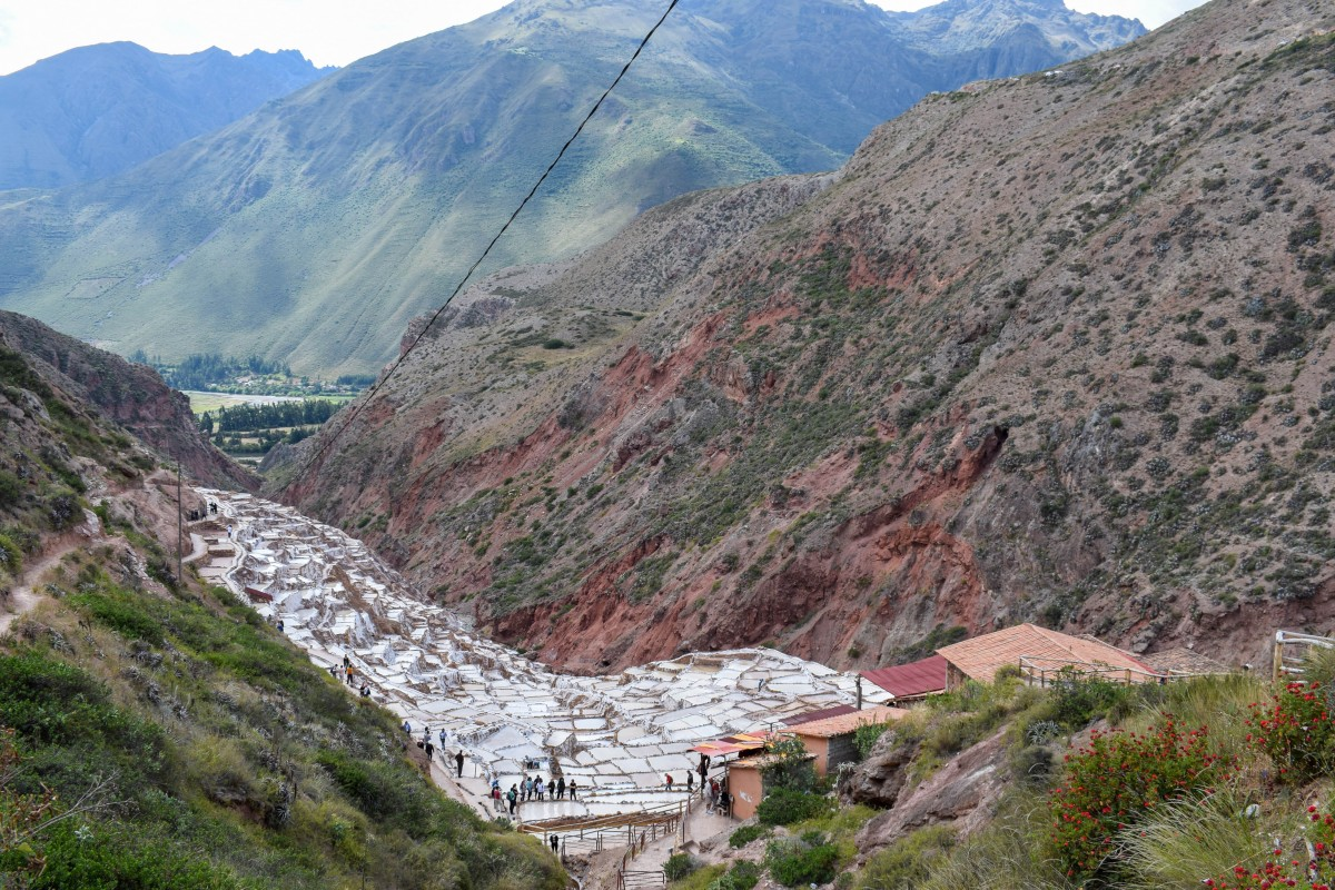 Salineras de Maras salt ponts Sacred Valley Peru