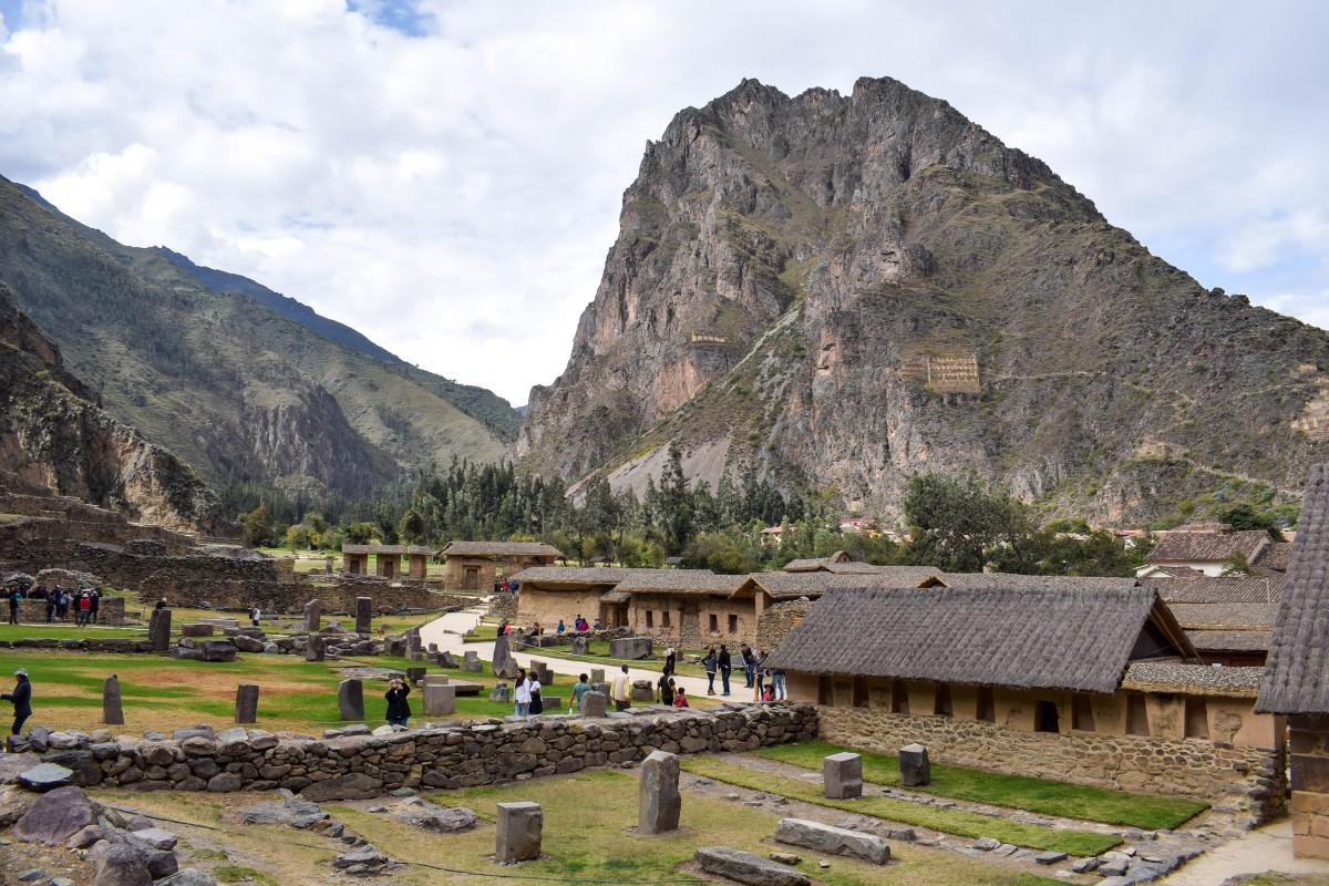 Ollantaytambo Sacred Valley Peru