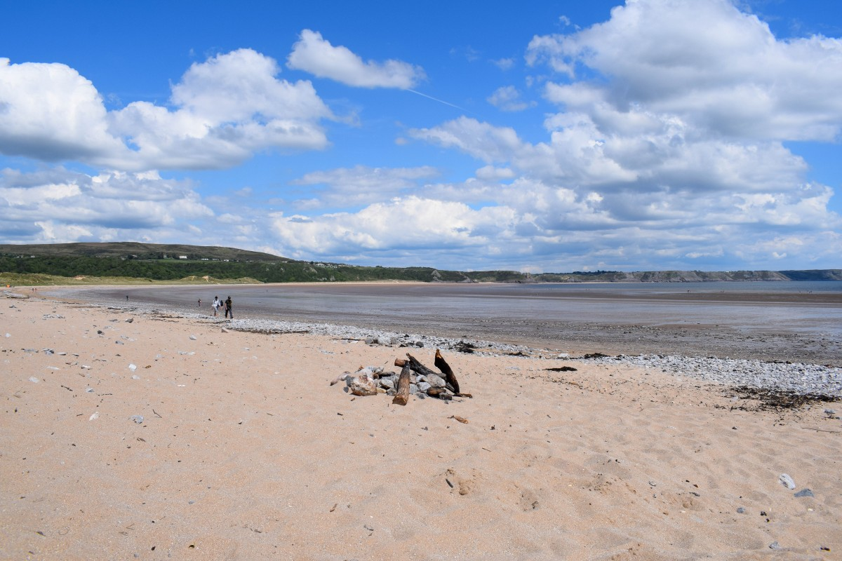 Oxwich Bay Beach Gower South Wales