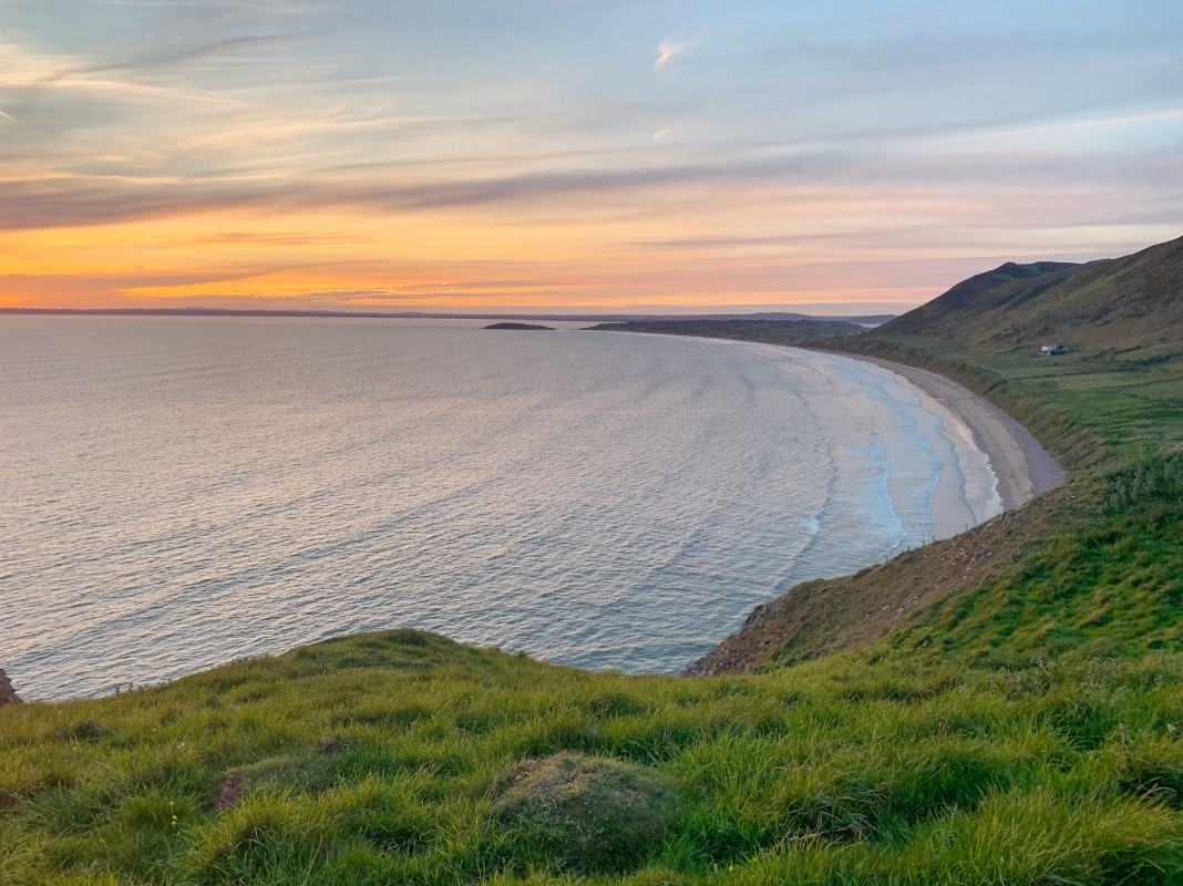 rhossili bay gower best beaches south wales uk