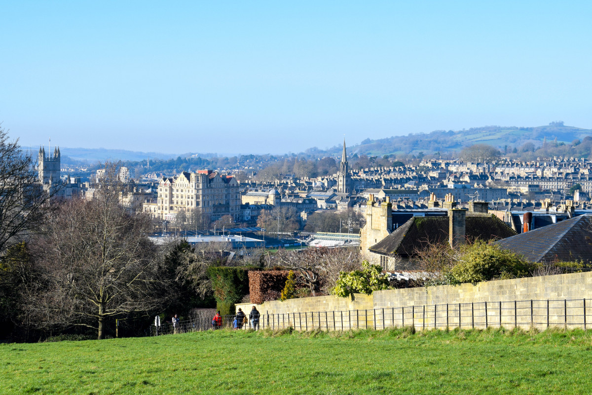 Bath walk to the view