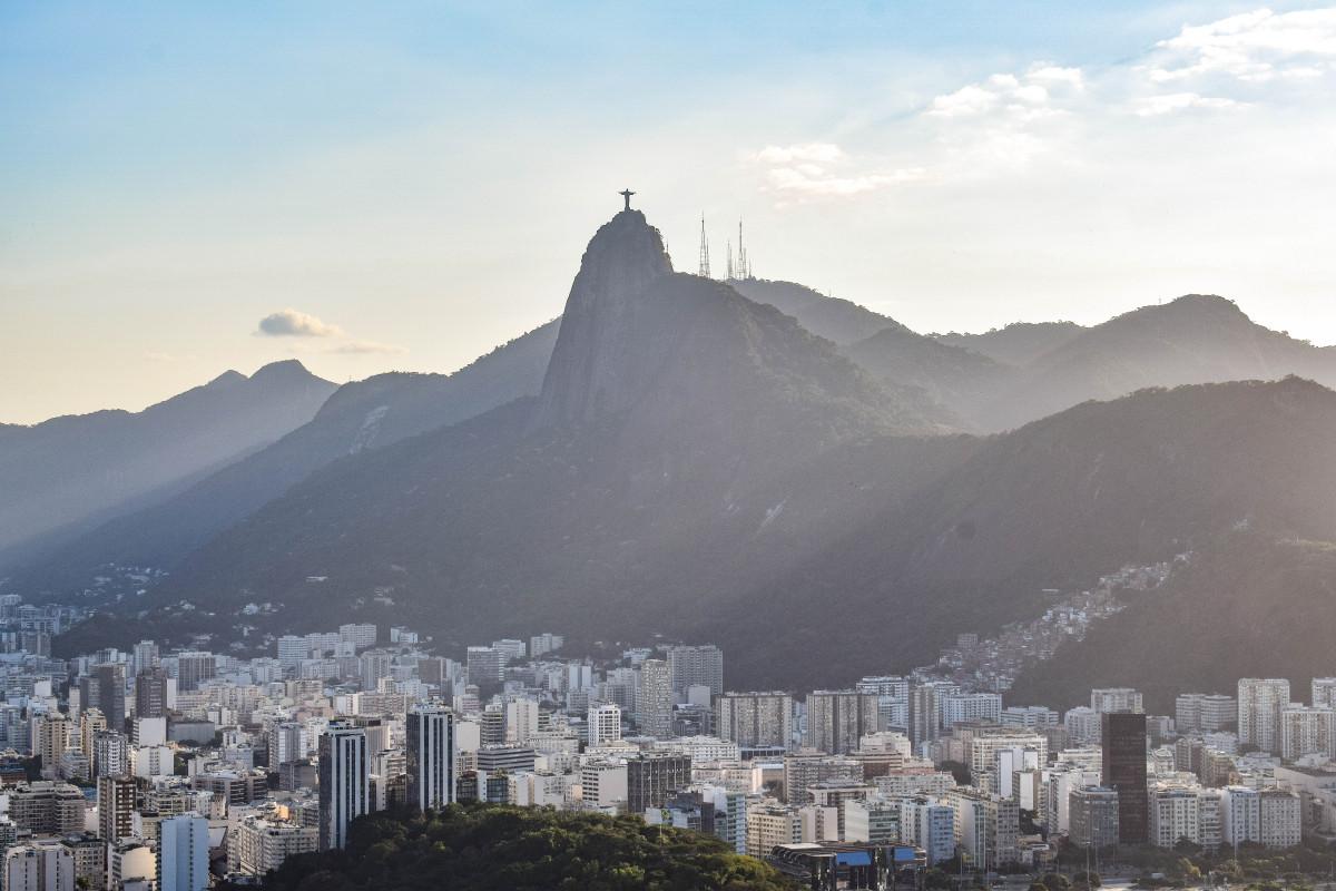 Rio de Janeiro skyline Brazil