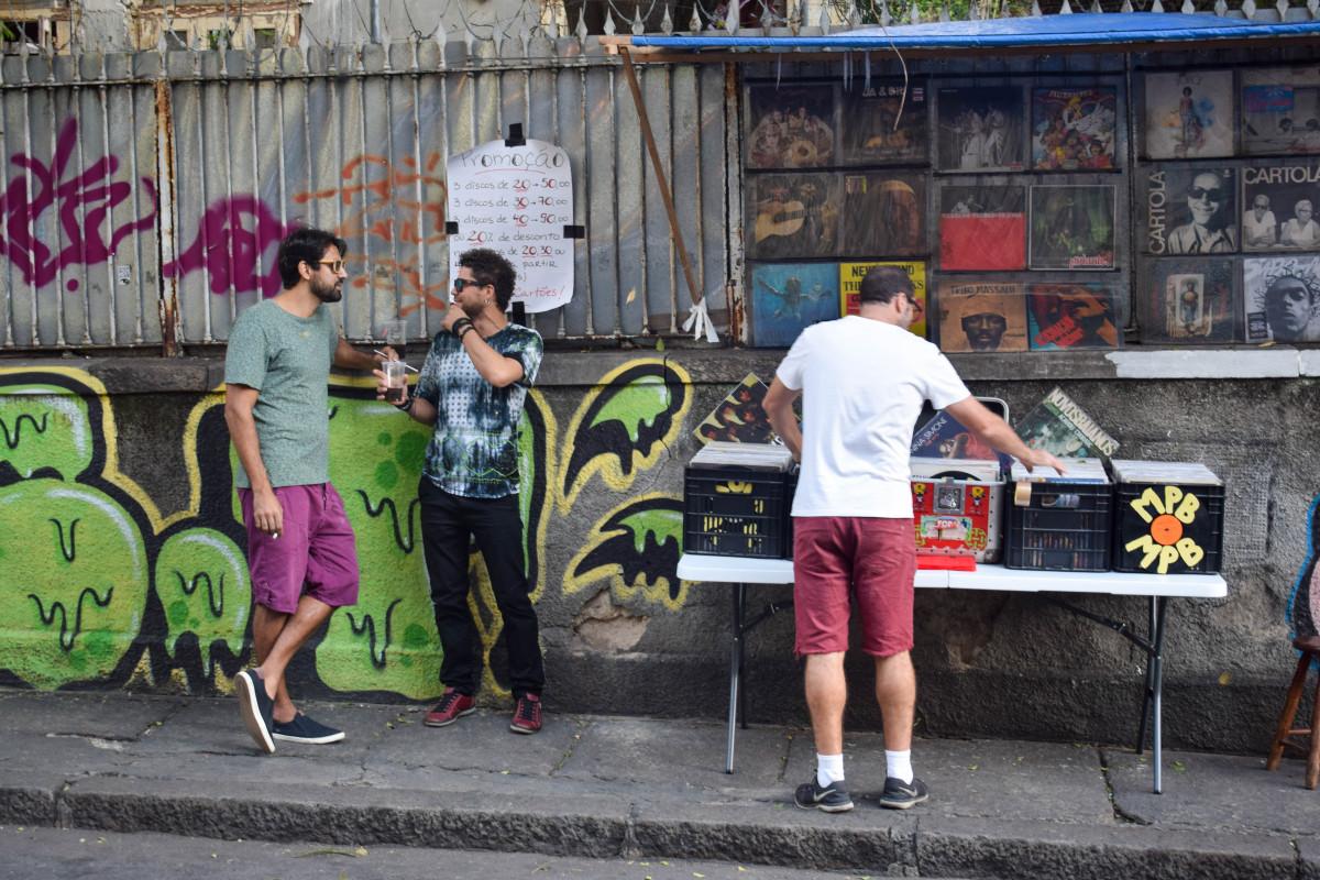 Santa Teresa record store Rio de Janeiro