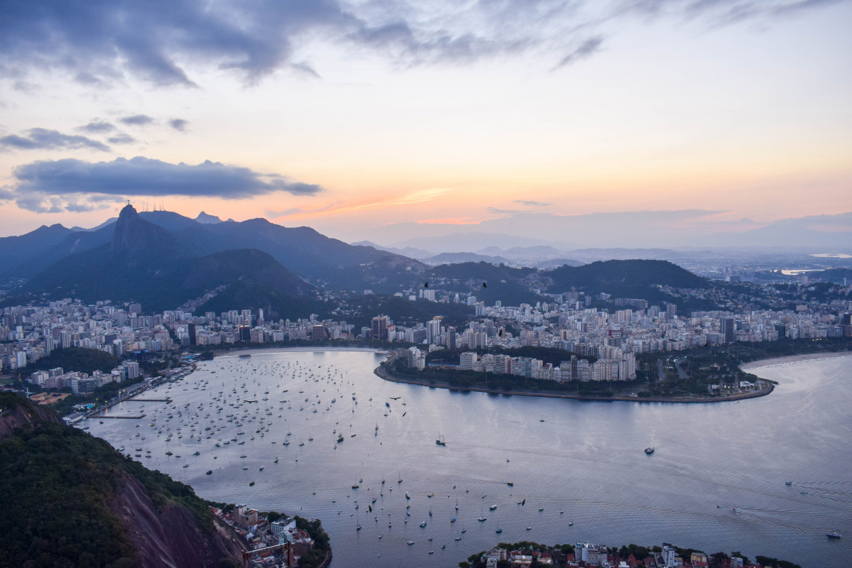 Sunset at Sugarloaf Mountain Places to Visit Rio de Janeiro Brazil