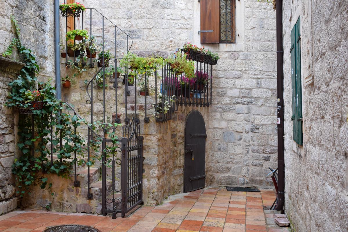 Kotor old town montenegro
