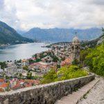 Kotor city walls montenegro