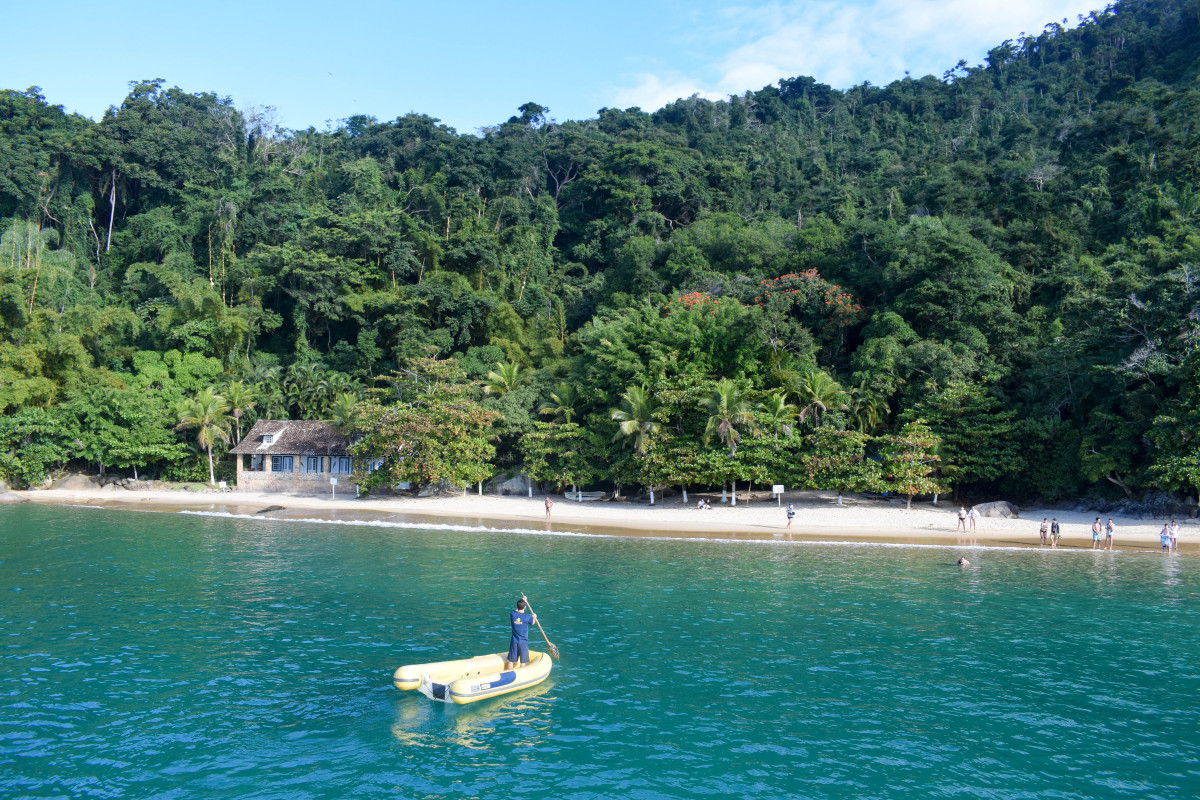 Paraty boat trip brazil